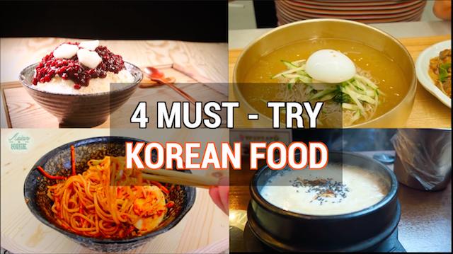 4 Must Try Korean Summer Food