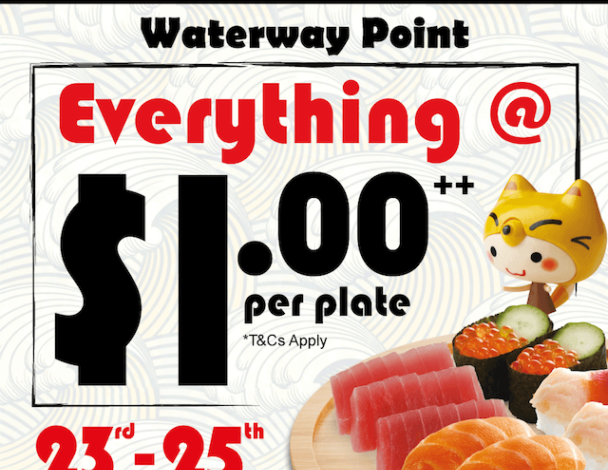 everything-at-1-per-plate-at-sushi-express-waterway-point