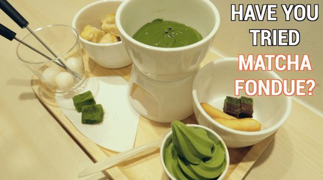 matcha-fondue
