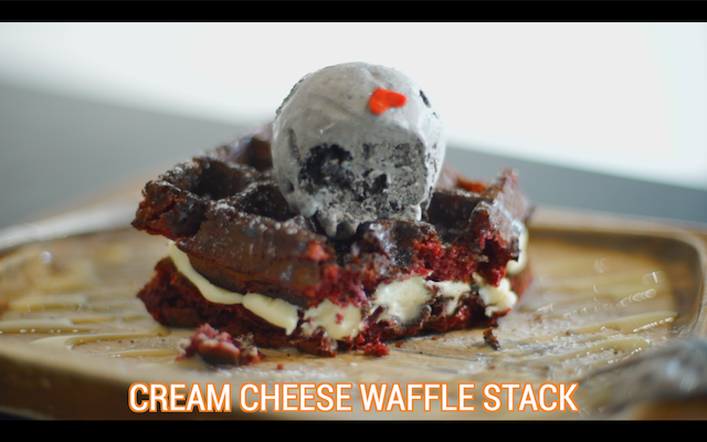 oblong-cream-cheese-waffle-stack